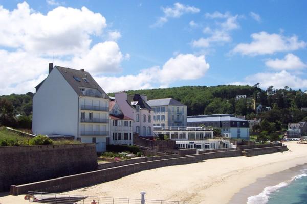 Location maison bretagne acces direct plage