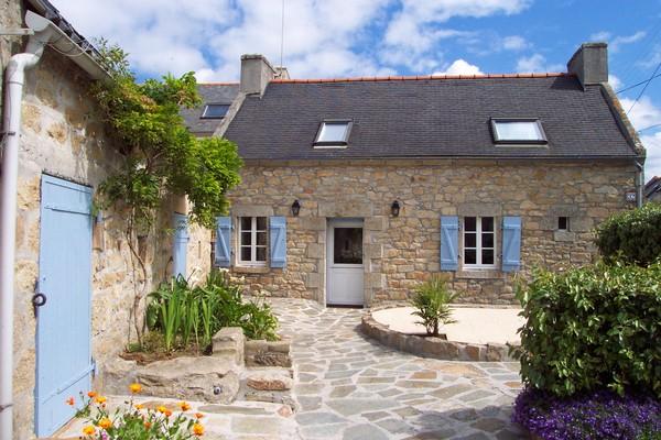 Location de vacances jolie maison p cheur plouhinec baie d 39 audierne finist re sud en bretagne - Maison de pecheur bretagne ...
